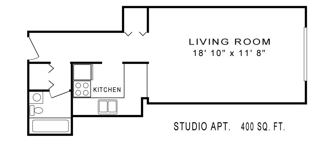 studio floor plan original